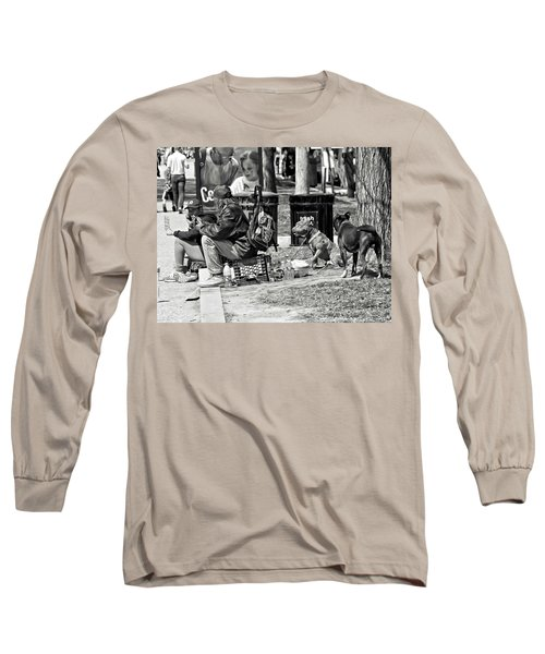 Spare Change Long Sleeve T-Shirt