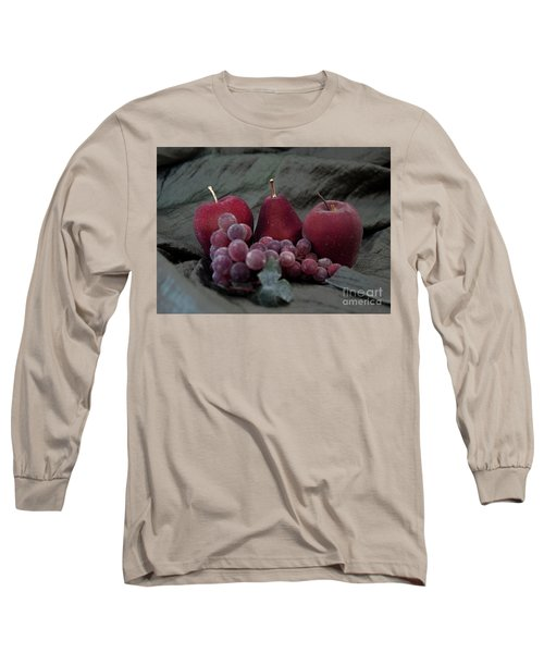 Long Sleeve T-Shirt featuring the photograph Sparkeling Fruits by Sherry Hallemeier