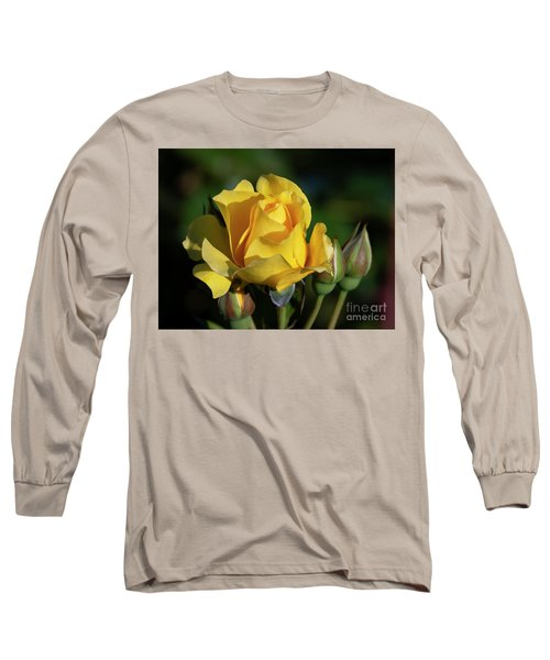 Sparkle N Shine Rose 6 Long Sleeve T-Shirt