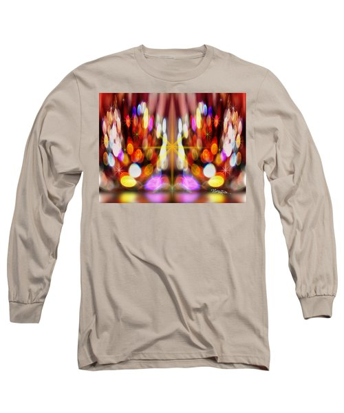 Sparkles #8885_2 Long Sleeve T-Shirt by Barbara Tristan