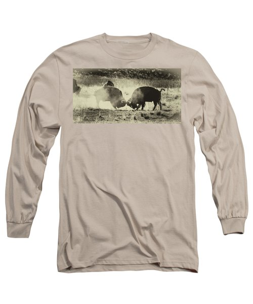 Sparring Partners - American Bison Long Sleeve T-Shirt