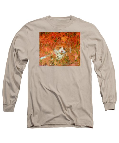 Special Kitty Long Sleeve T-Shirt by Geraldine DeBoer