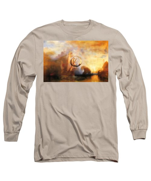 Sphere 11 Turner Long Sleeve T-Shirt by David Bridburg