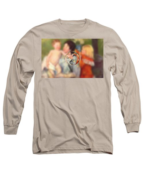 Sphere II Cassatt Long Sleeve T-Shirt by David Bridburg