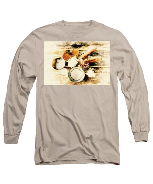 Spice Brown  Long Sleeve T-Shirt