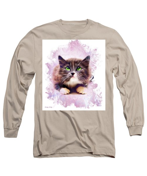 Spice Kitty Long Sleeve T-Shirt by Kathy Kelly