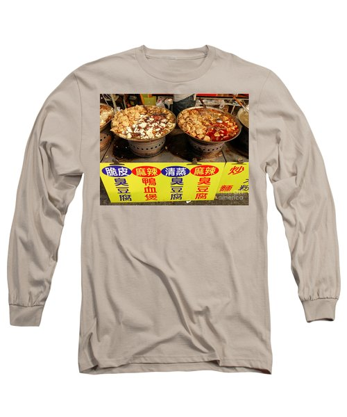Long Sleeve T-Shirt featuring the photograph Spicy And Herbal Hot Pot Food by Yali Shi