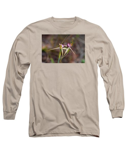 Spider Orchid Australia Long Sleeve T-Shirt