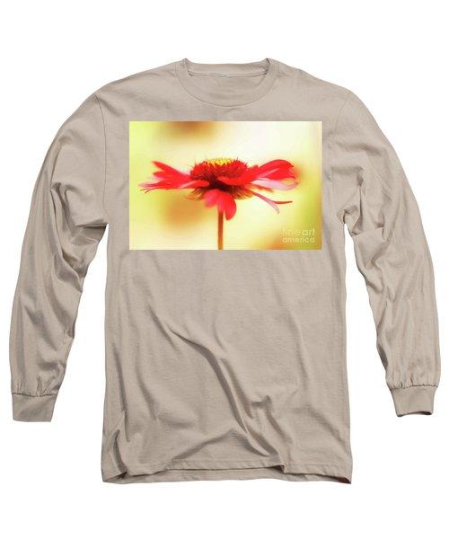 Spinning Firewheel Long Sleeve T-Shirt
