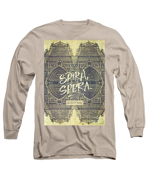Spira Spera Victor Hugo Novel Notre-dame De Paris Long Sleeve T-Shirt