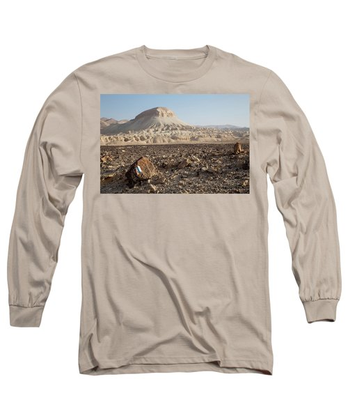 Spirit Of The Desert Long Sleeve T-Shirt by Yoel Koskas