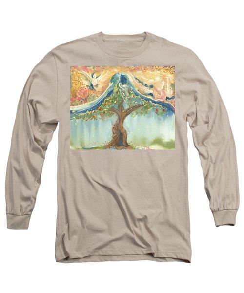 Spiritual Embrace Long Sleeve T-Shirt