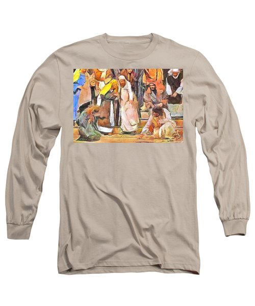Spiritual Makeover Long Sleeve T-Shirt by Wayne Pascall
