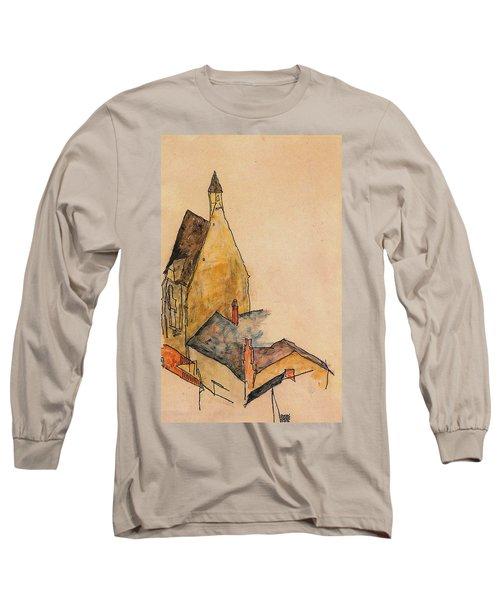 Spitalskirche Molding 1918 Long Sleeve T-Shirt