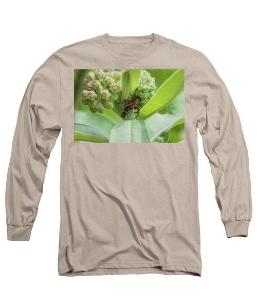 Long Sleeve T-Shirt featuring the photograph Spl-2 by Ellen Lentsch