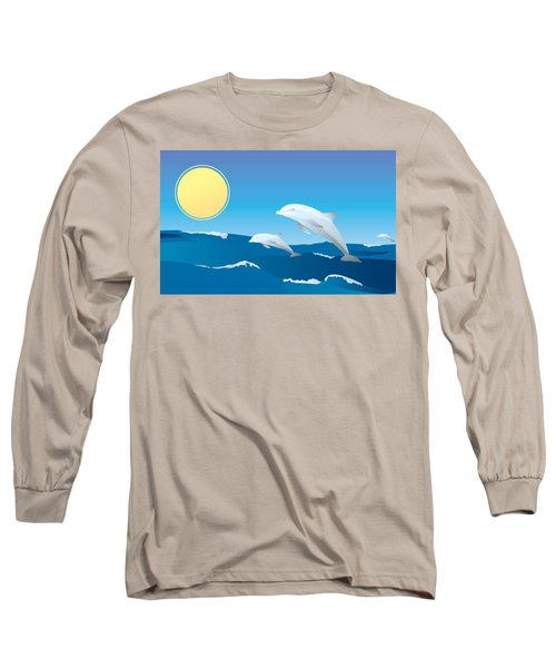 Splash Long Sleeve T-Shirt by Now