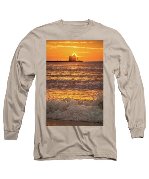 Long Sleeve T-Shirt featuring the photograph Splash Of Light by Bill Pevlor