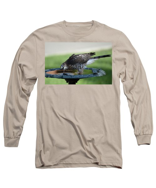 Water And The Hawk Long Sleeve T-Shirt
