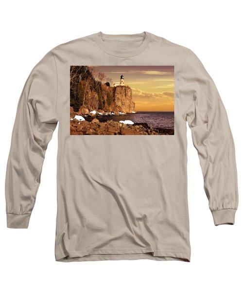 Split Rock Lighthouse Long Sleeve T-Shirt
