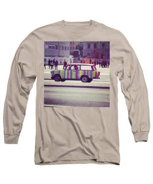 Spotted A Few Of These Doing Tours Long Sleeve T-Shirt