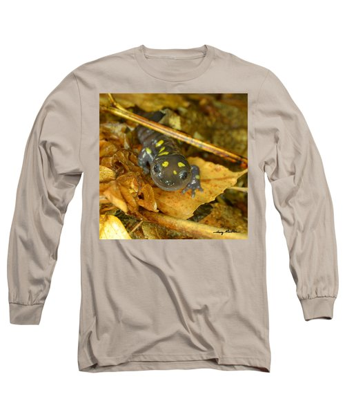 Spotted Salamander Long Sleeve T-Shirt