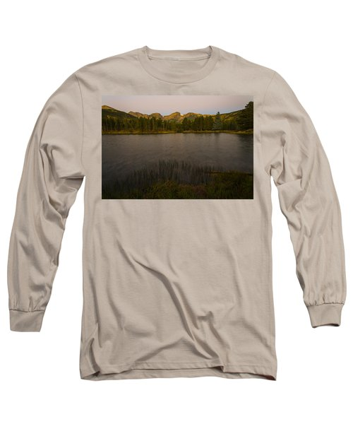 Sprague Lake Long Sleeve T-Shirt by Gary Lengyel
