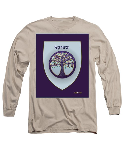Spratt Family Crest Long Sleeve T-Shirt