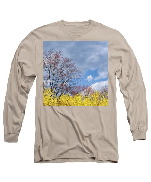 Long Sleeve T-Shirt featuring the photograph Spring 2017 Square by Bill Wakeley