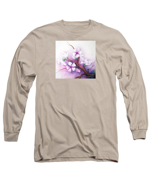 Spring Blooms Long Sleeve T-Shirt by Rebecca Davis