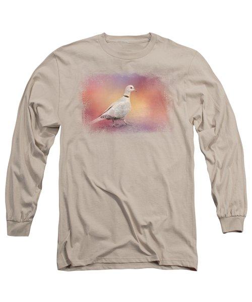 Spring Eurasian Collared Dove Long Sleeve T-Shirt