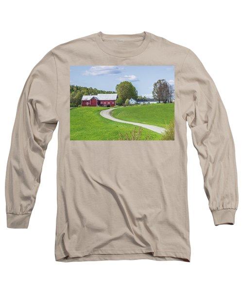 Spring Farm Long Sleeve T-Shirt by Tim Kirchoff