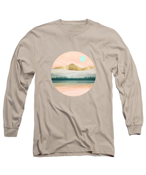 Spring Forest Lake Long Sleeve T-Shirt