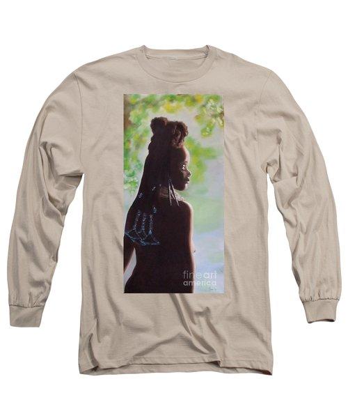 Spring In Africa Long Sleeve T-Shirt by Annemeet Hasidi- van der Leij