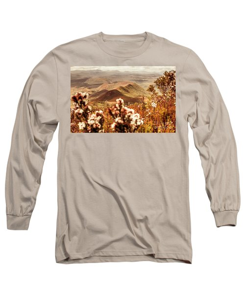 Spring Mountain Blossoms Long Sleeve T-Shirt