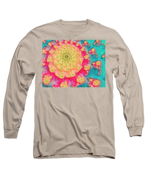 Spring On Parade 2 Long Sleeve T-Shirt by Bonnie Bruno