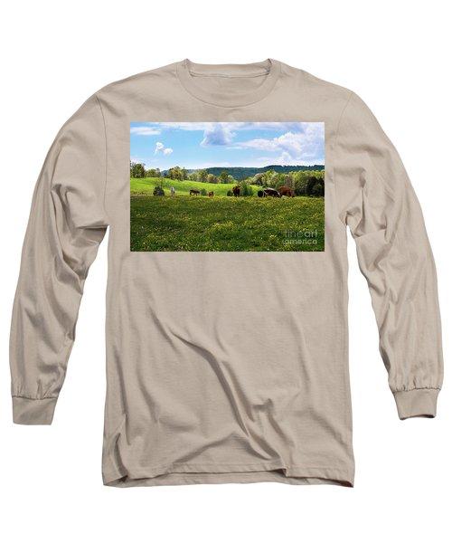 Spring Pastureland Long Sleeve T-Shirt