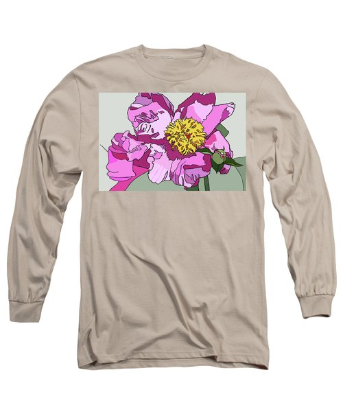 Spring Pink Long Sleeve T-Shirt by Jamie Downs