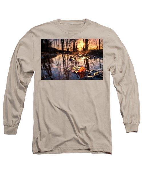 Spring Puddles Long Sleeve T-Shirt by Craig Szymanski