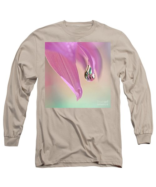 Spring Raindrop By Kaye Menner Long Sleeve T-Shirt