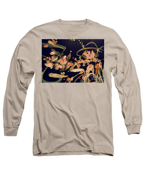 Spring Song Long Sleeve T-Shirt by Nancy Kane Chapman