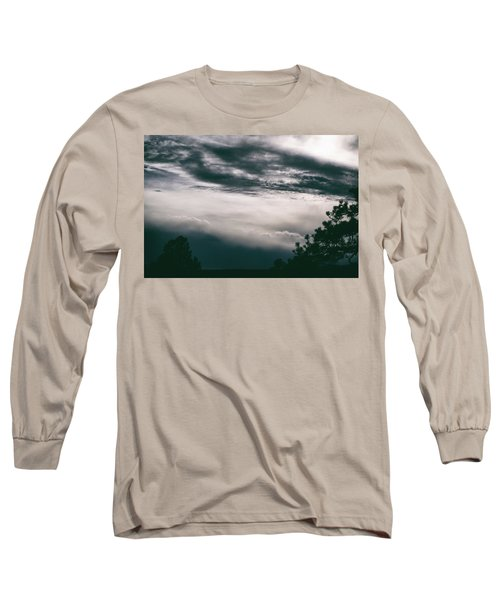 Spring Storm Cloudscape Long Sleeve T-Shirt