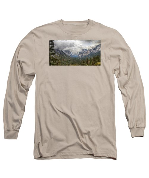 Long Sleeve T-Shirt featuring the photograph Spring Storm Yosemite by Harold Rau