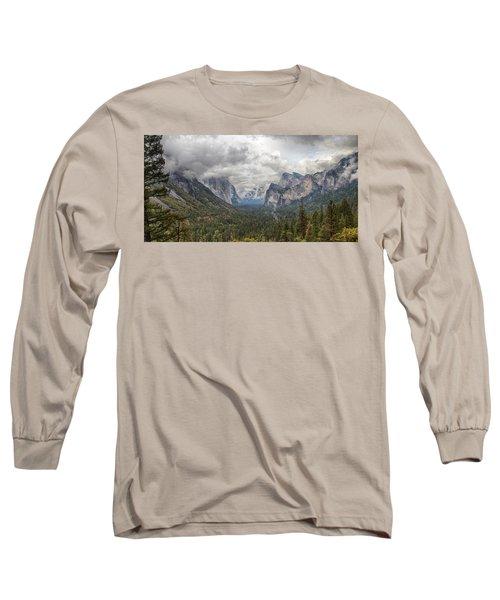 Spring Storm Yosemite Long Sleeve T-Shirt