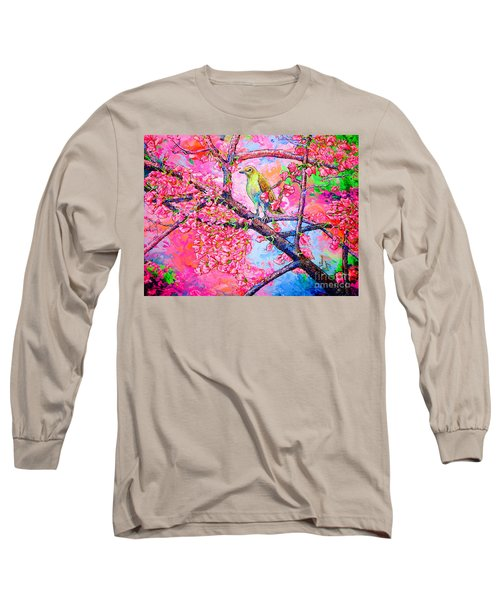 Spring Time Long Sleeve T-Shirt by Viktor Lazarev