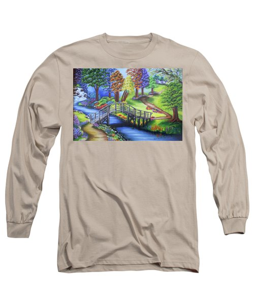 Springtime In The Park Long Sleeve T-Shirt