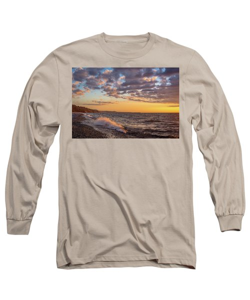 Springtime On Agate Beach Long Sleeve T-Shirt