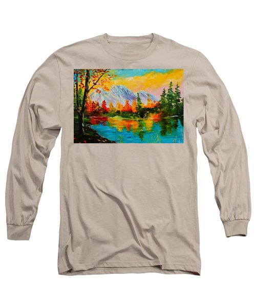 Springtime Reflections Long Sleeve T-Shirt