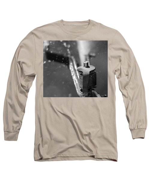 Long Sleeve T-Shirt featuring the photograph Sprinkler by Wade Brooks