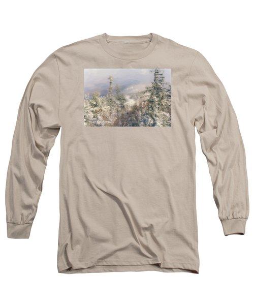 Spruce Peak Summit At Sunday River Long Sleeve T-Shirt