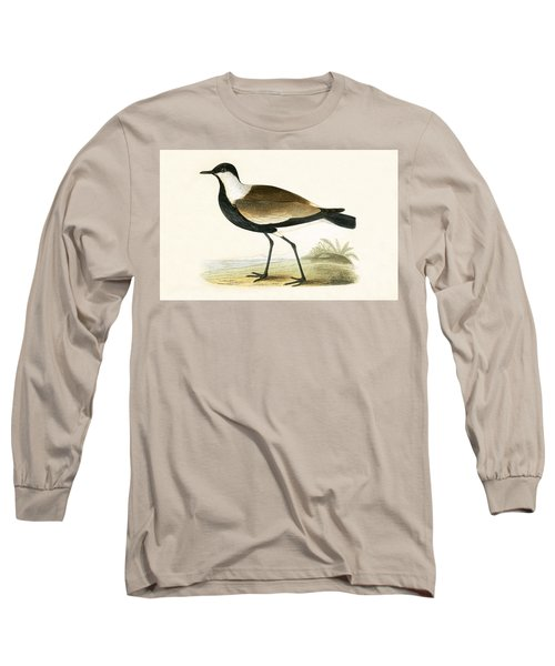 Spur Winged Plover Long Sleeve T-Shirt by English School